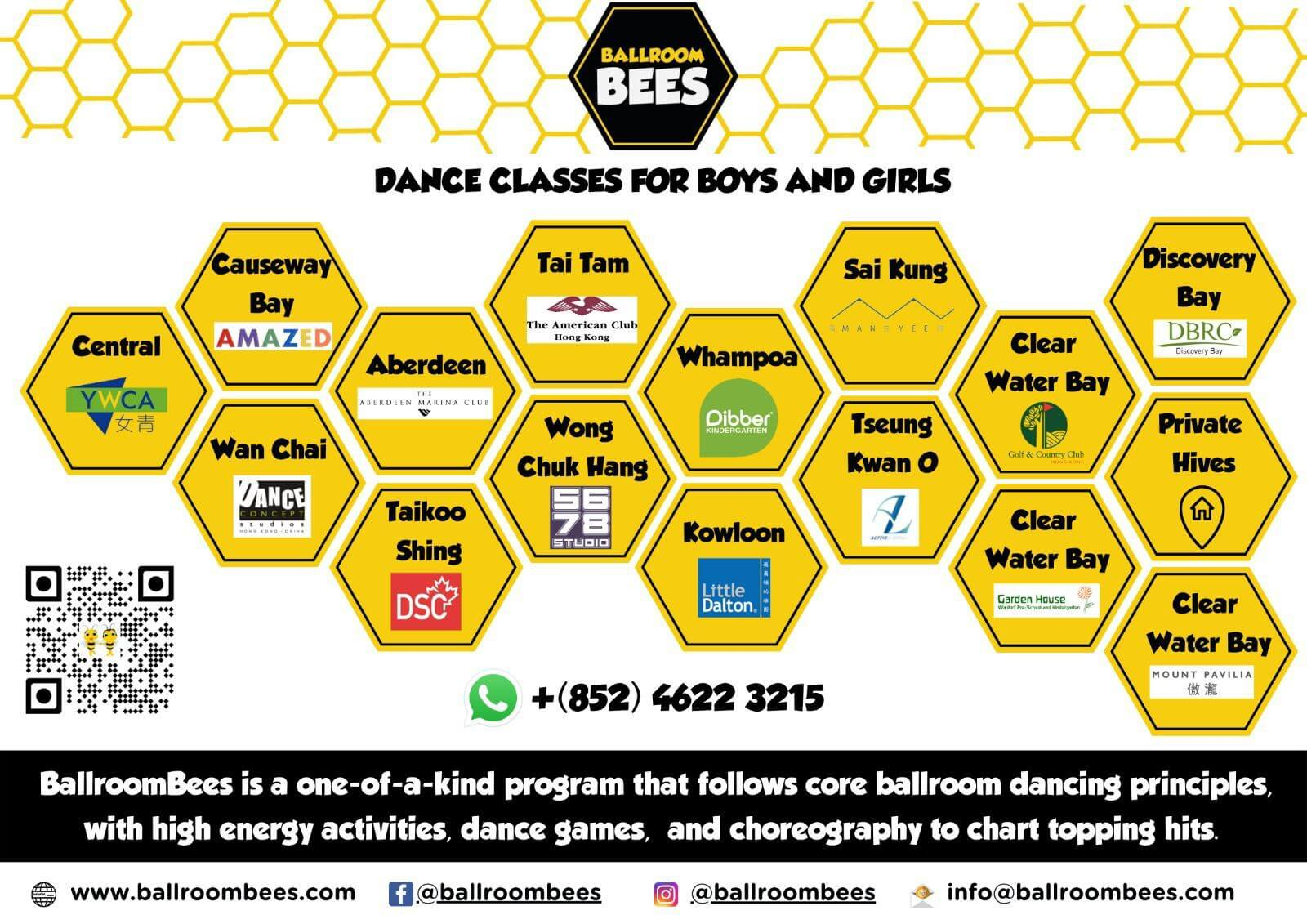 ballroombees locations banner